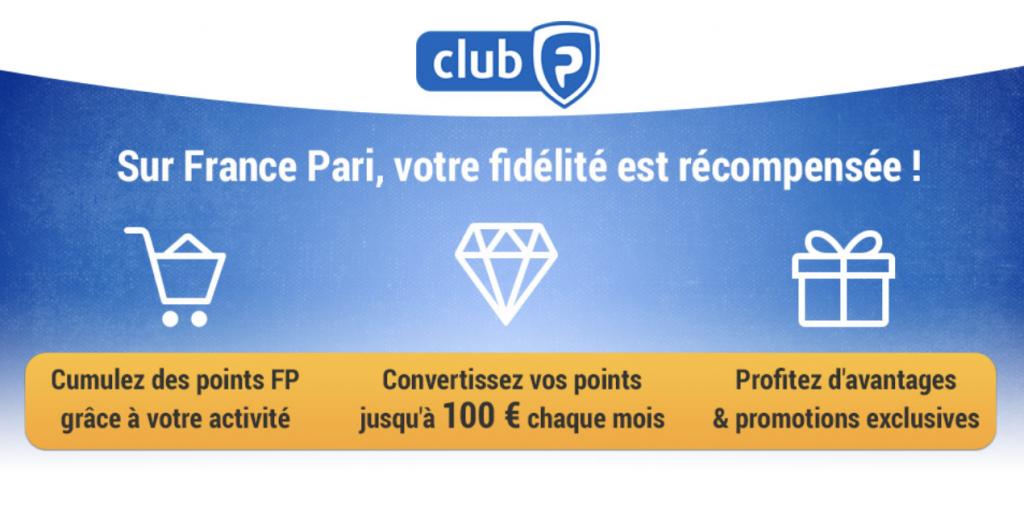 Comment gagner des points avec le club France Pari