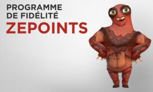 Comment gagner des Zepoints?