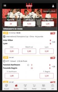 App mobile Winamax : Toutes les infos