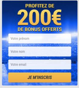 200€ de paris offerts sur France Pari – Avis sur le bonus et les promos