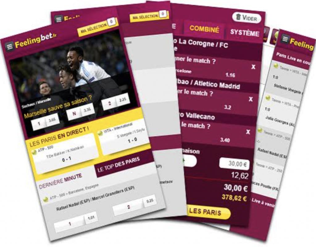 App mobile Feelingbet : Toutes les infos