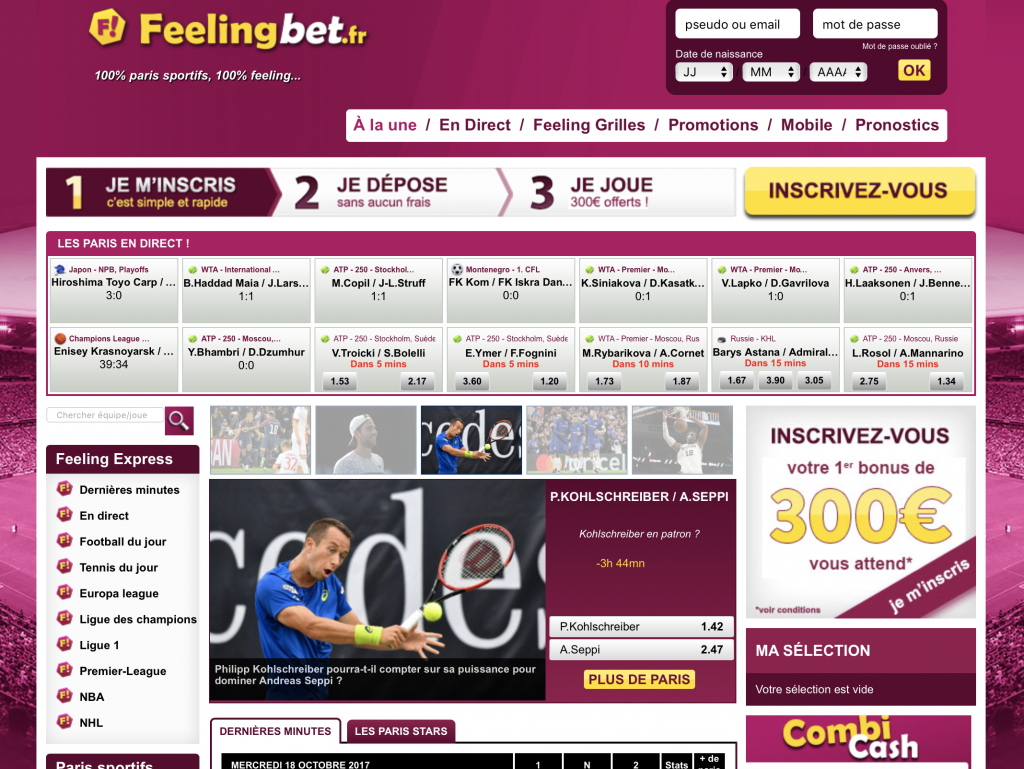 Feelingbet – Guide, avis et test