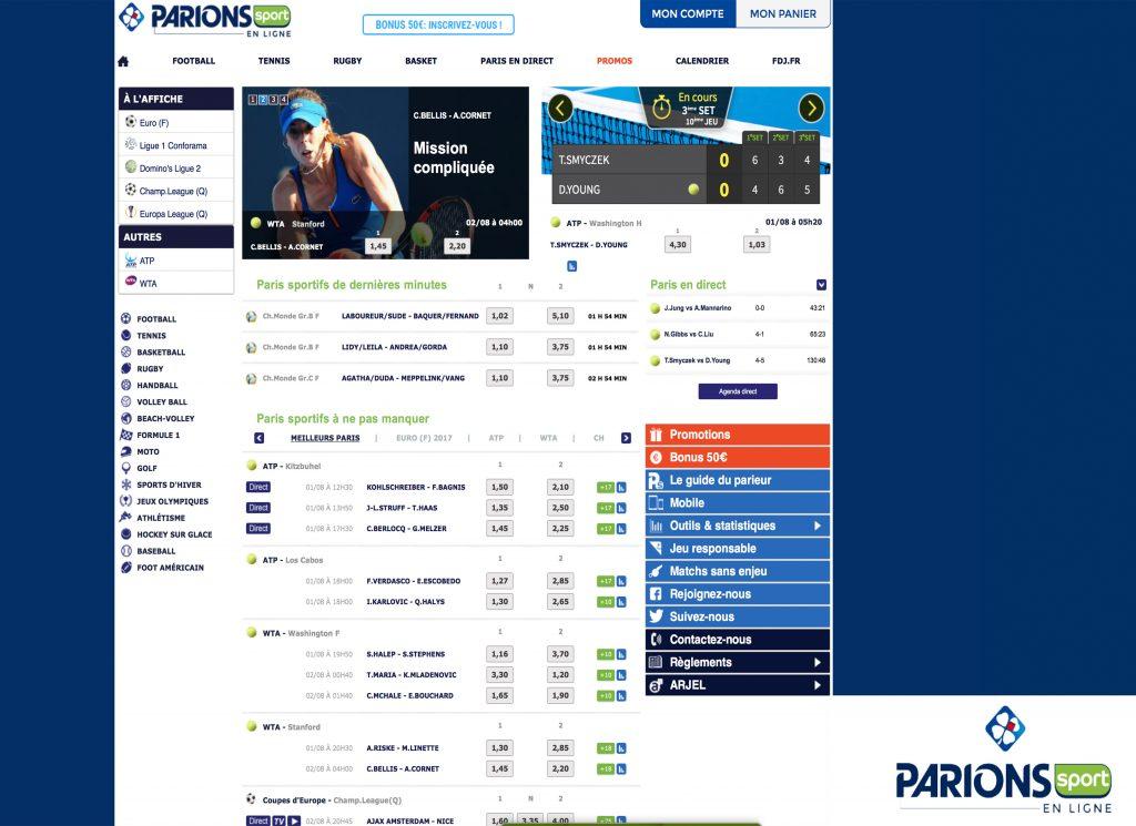 Parions Sport – Guide, Avis et Test
