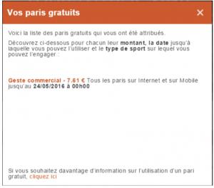 Obtenir des Paris gratuits du PMU