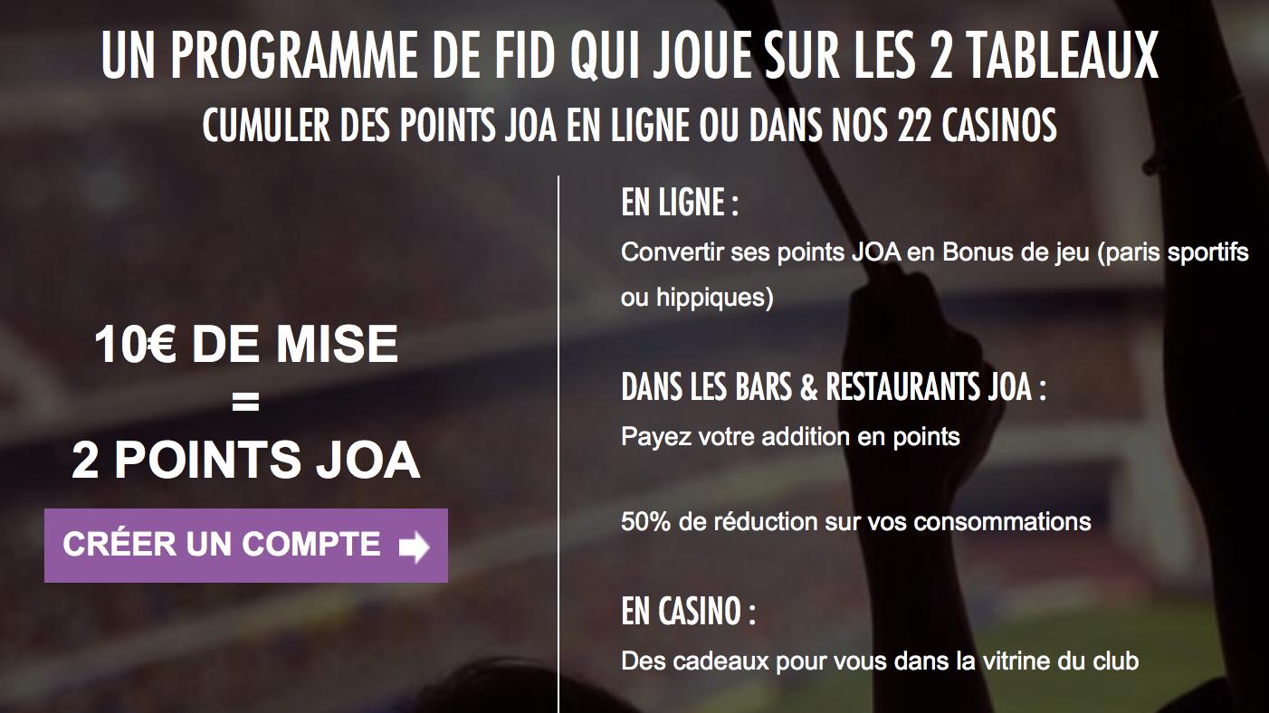 Le programme fidélité de JOA online : le club JOA