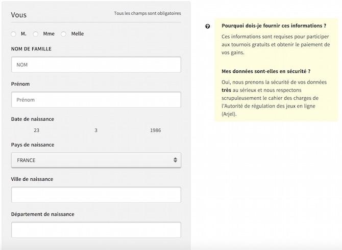 Comment s'inscrire et ouvrir un compte sur Winamax
