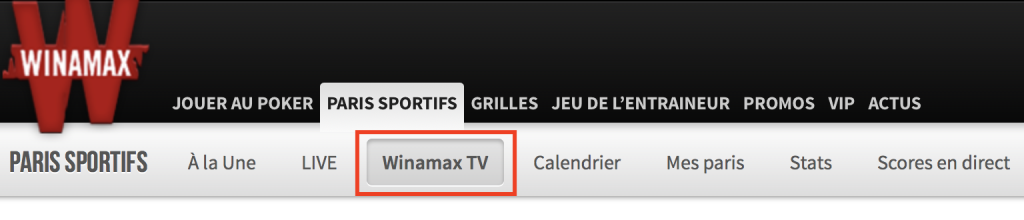 Suis gratuitement les matchs en direct avec le streaming Winamax