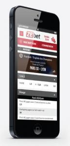Application mobile ZEbet : Les infos clés